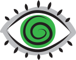 Illustrated eye icon